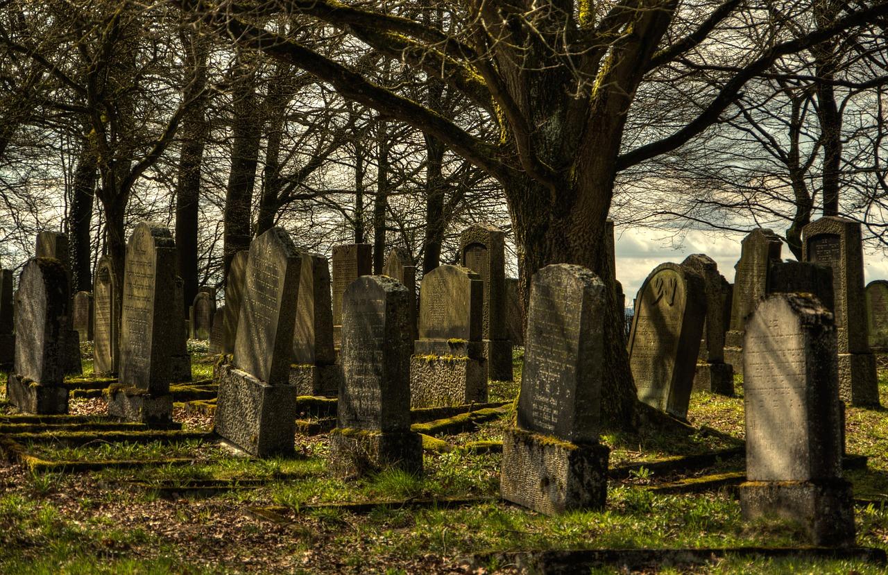 Image of headstones